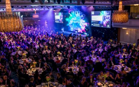 Broadcast Awards at the Grosvenor Hotel, London